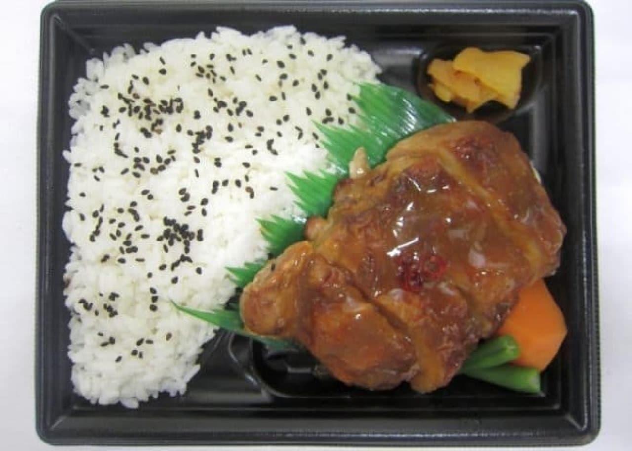 ミニストップ「チキンステーキ弁当(津軽味噌だれ)」
