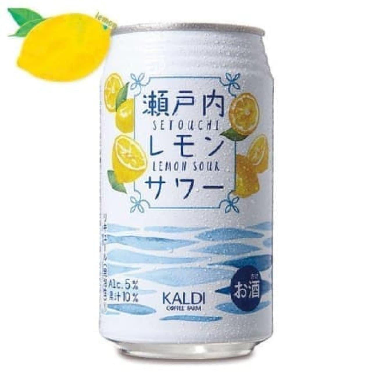 カルディ「瀬戸内レモンサワー」