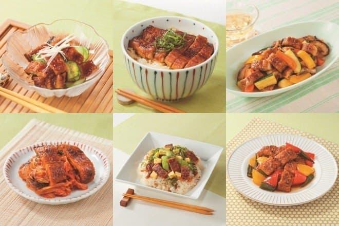 イトーヨーカドー、うなぎの蒲焼きをアレンジしたレシピ