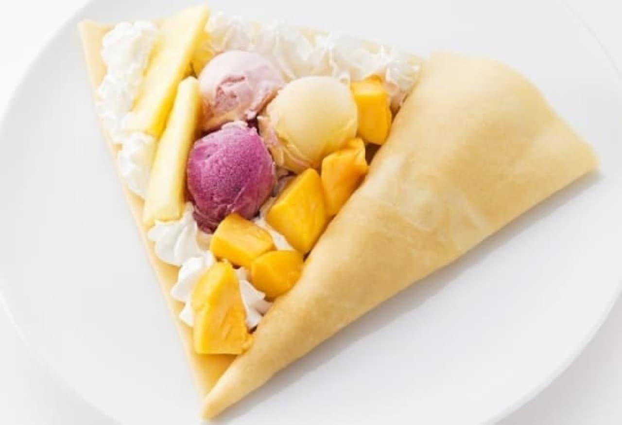 CAFE CREPE「トロピカル フルーツ カーニバル」