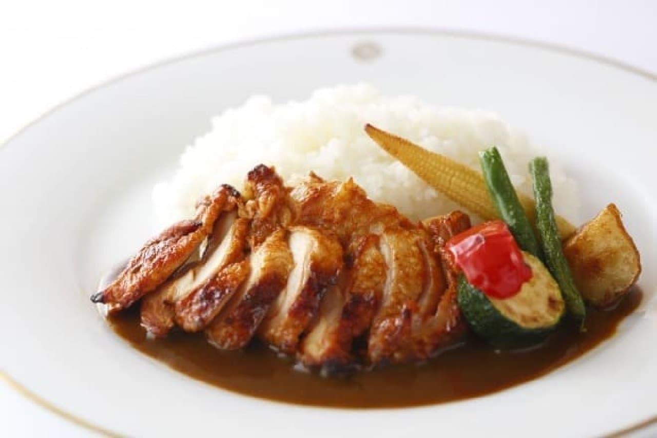 資生堂パーラー「大山鶏のカレーライス」