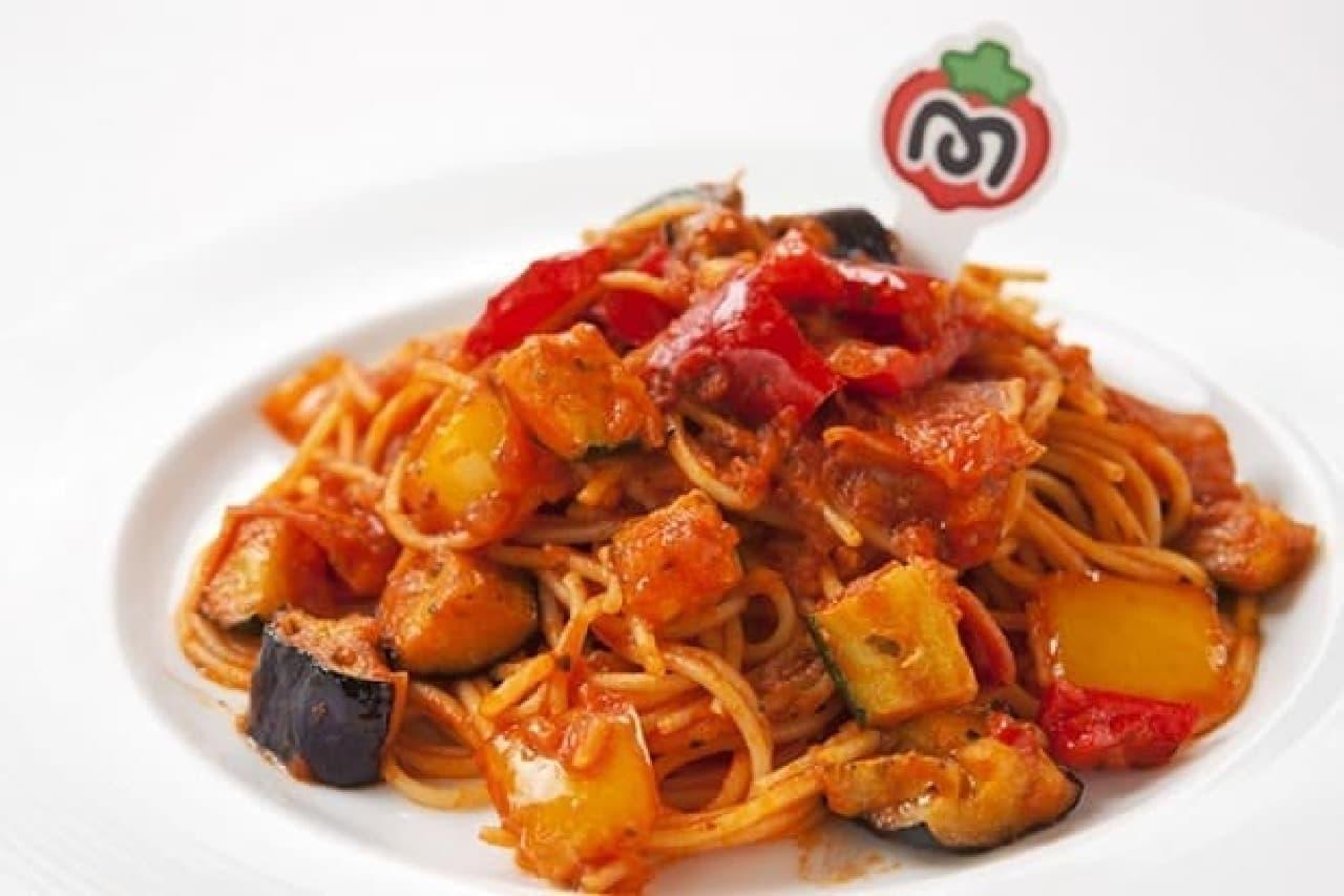 カービィカフェ マキシムトマトの全回復パスタ