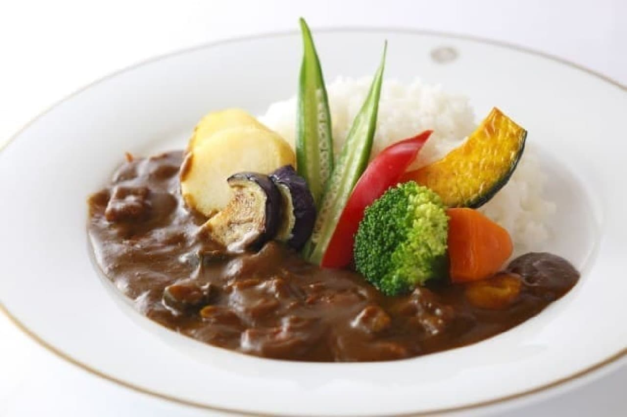 資生堂パーラー「野菜のカレーライス」
