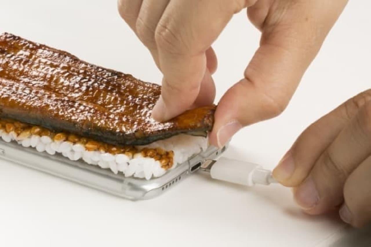 Hamee「iPhone 6s/6専用 食品サンプルカバー(国産うなぎの蒲焼)」