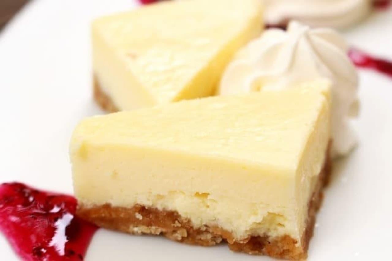 八ヶ岳ファーマーズケーキ「ベイクドチーズケーキセット」