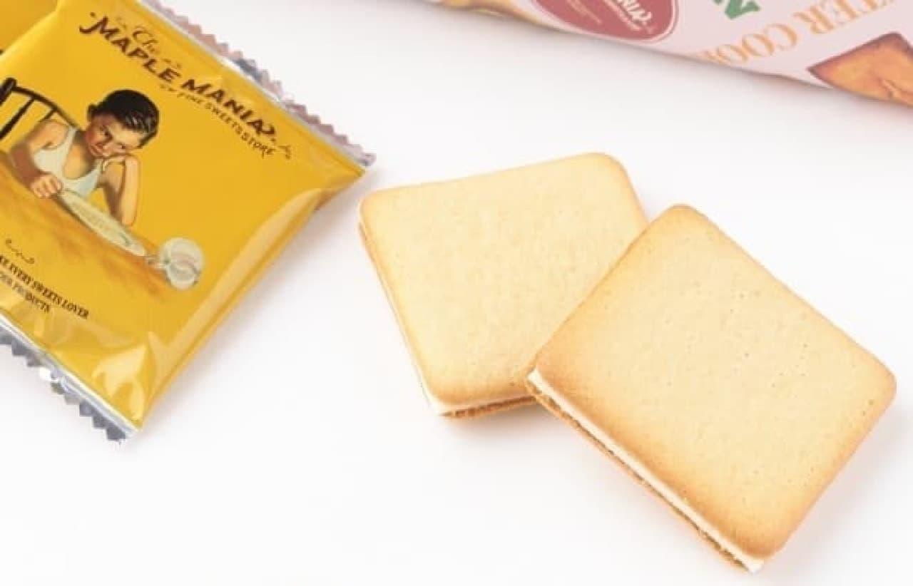 ザ・メープルマニア「メープルバタークッキー18枚入 東京駅限定パッケージ」