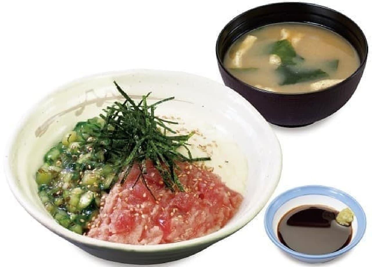 牛丼チェーン・松屋「三色丼」