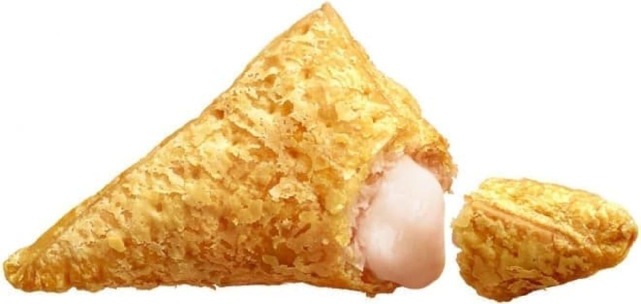 マクドナルド「三角ももクリームパイ」