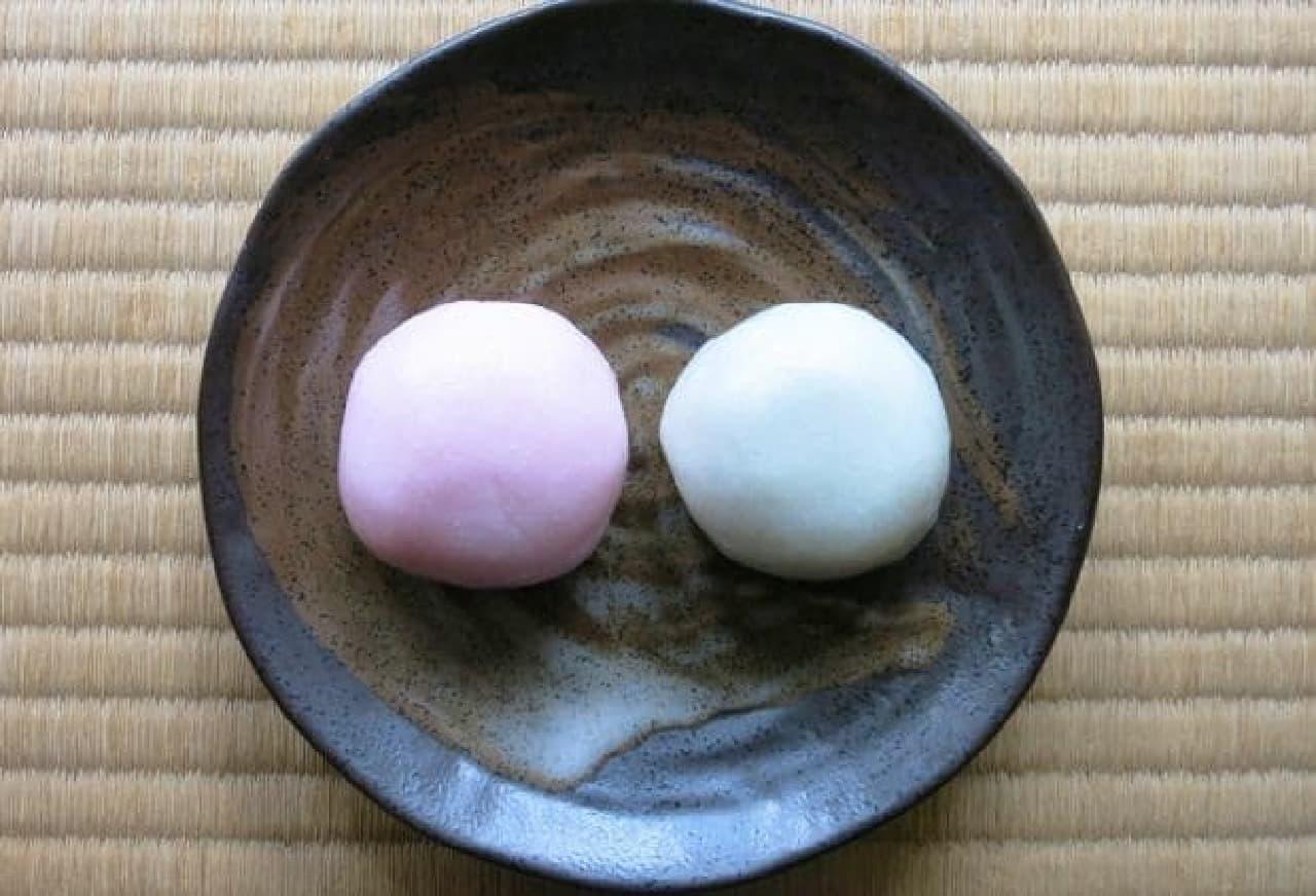 紅白まんじゅう(イメージ)