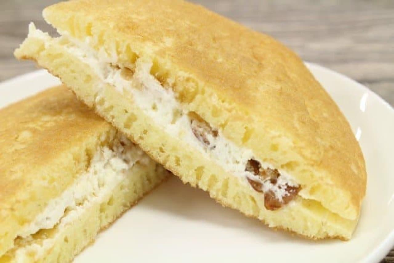 kiriとプレシア「チーズクリームのパンケーキ」