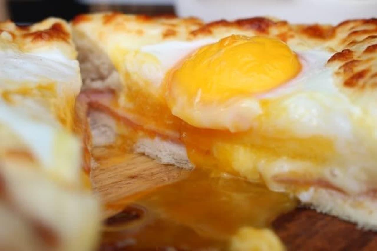 THE SUN&THE MOON「目玉焼きトースト&肉団子のスープ」