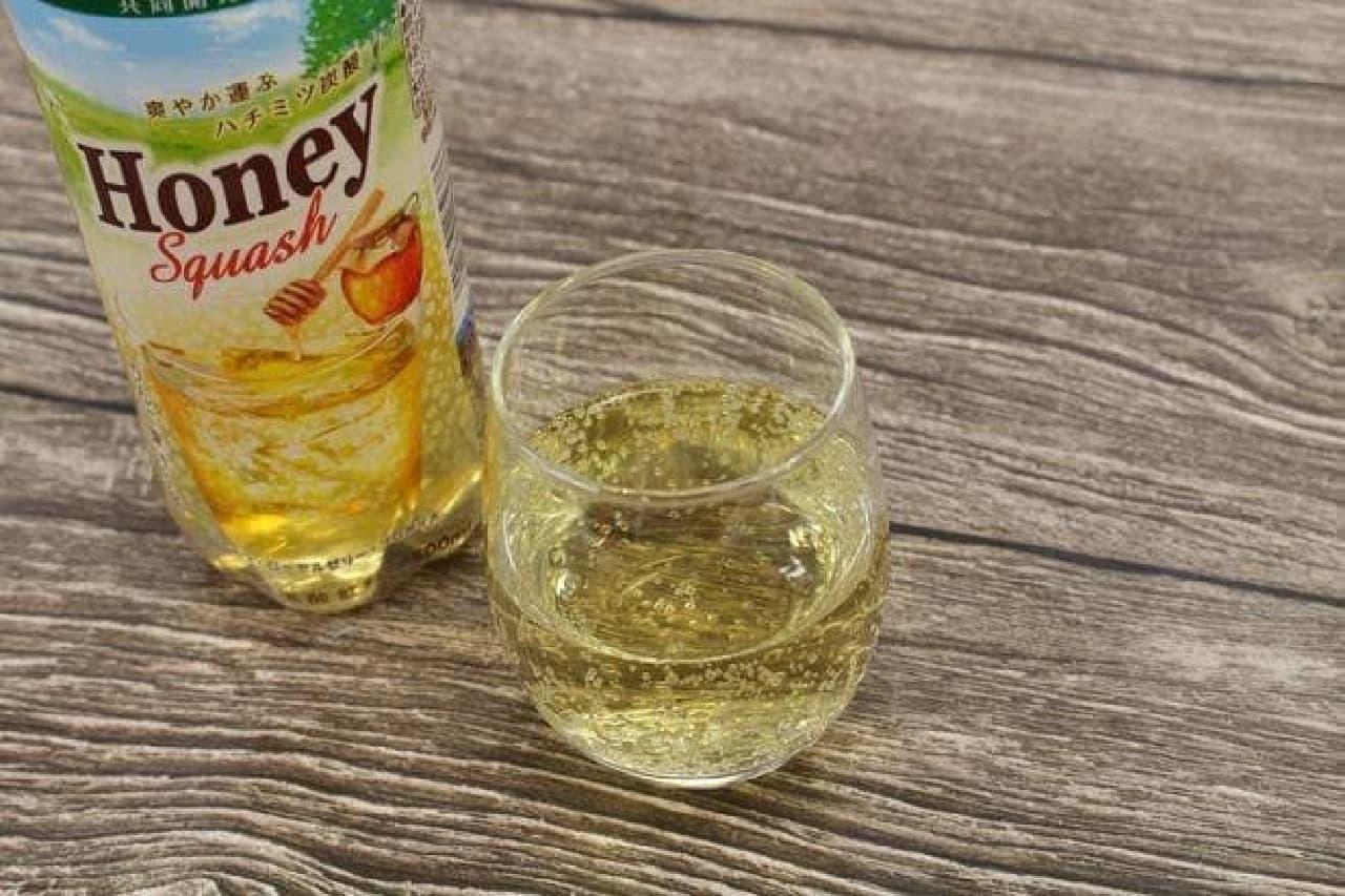 タリーズ×伊藤園「Honey Squash(ハニー スカッシュ)」