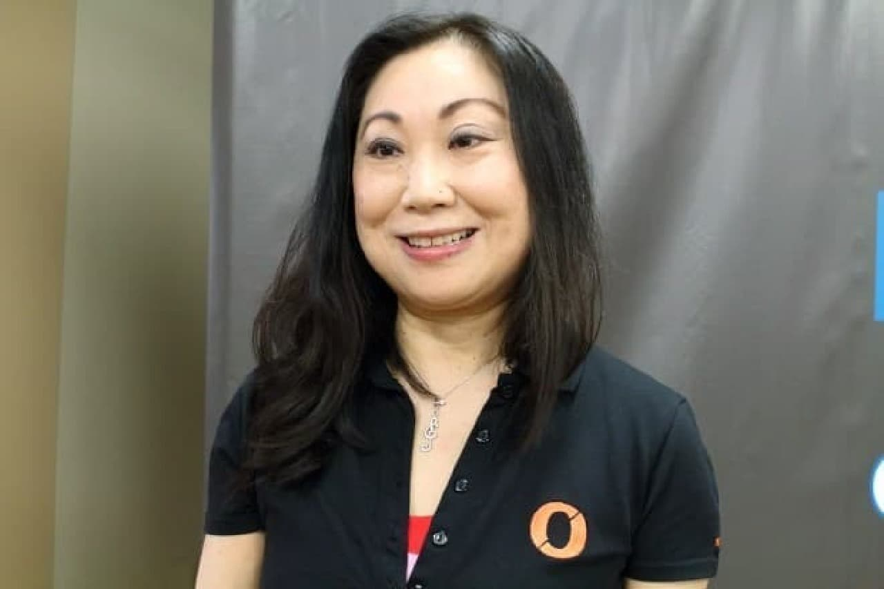 Nogne O(ヌウグネ・エウ)の営業担当、Kaori Ishiiさん