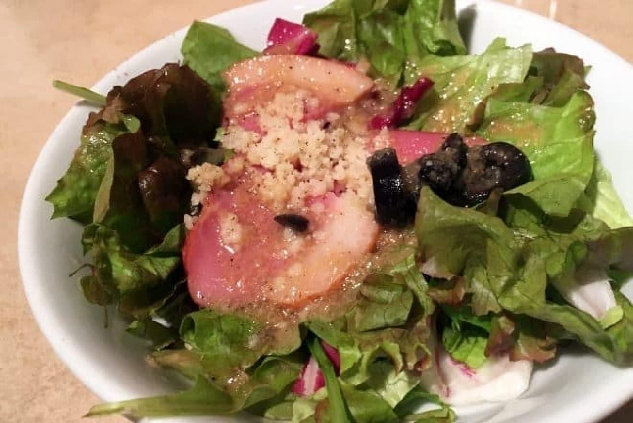 ハンバーグウィル「燻製紅茶鴨のサラダ」