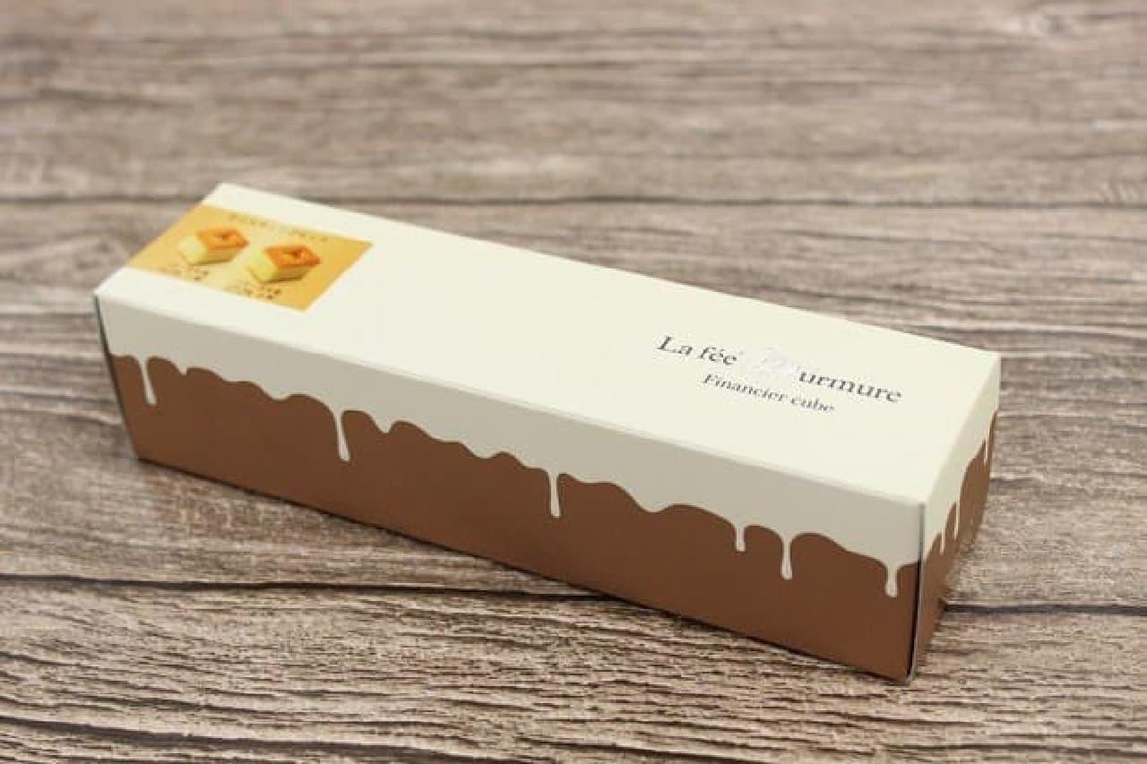 ラ フェ ミュルミュール「テイスティングセット フィナンシェ キューブ(バター含有量 19.9%&27.2%)」