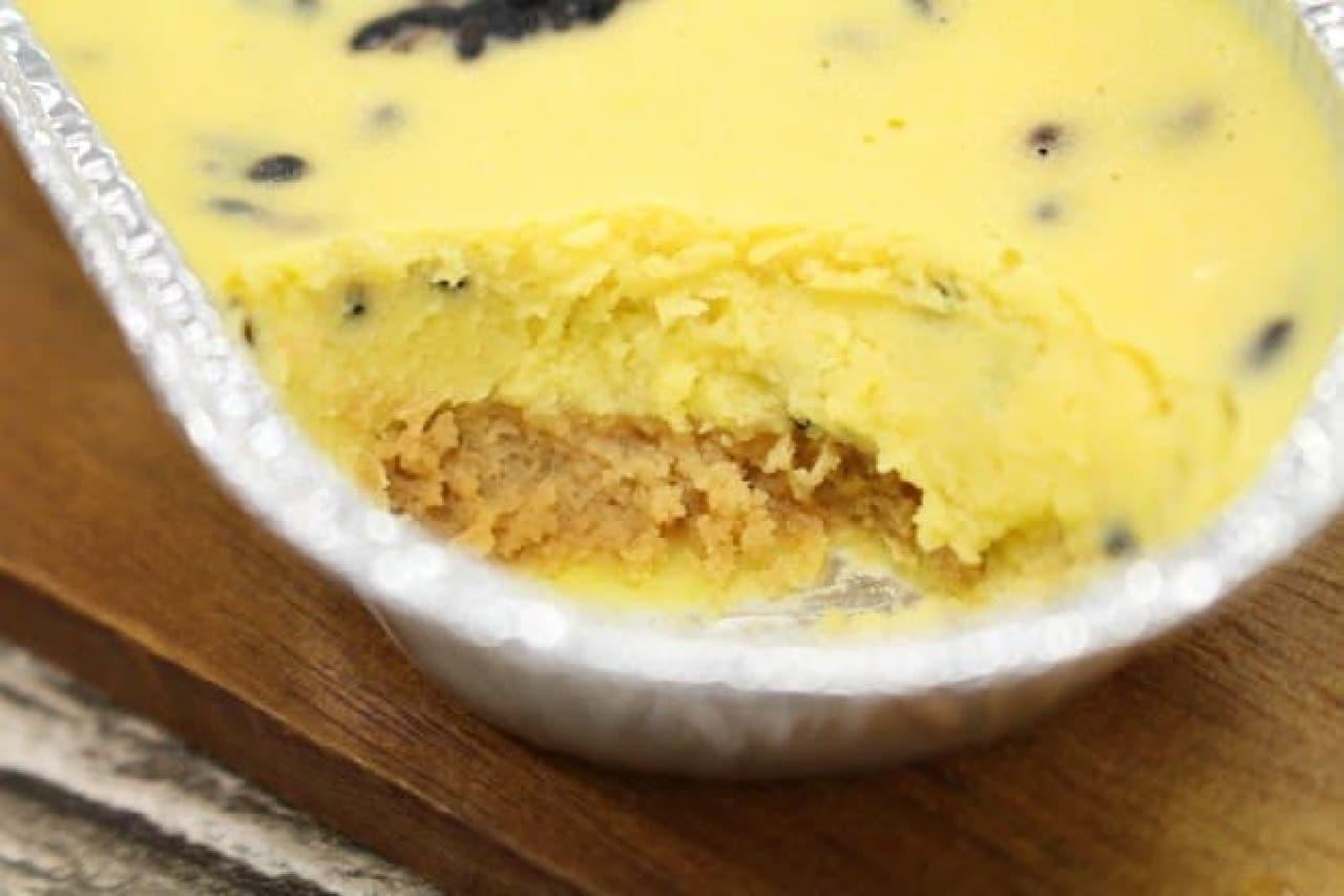 ファミマ「安納芋と黒ごまのベイクドケーキ」