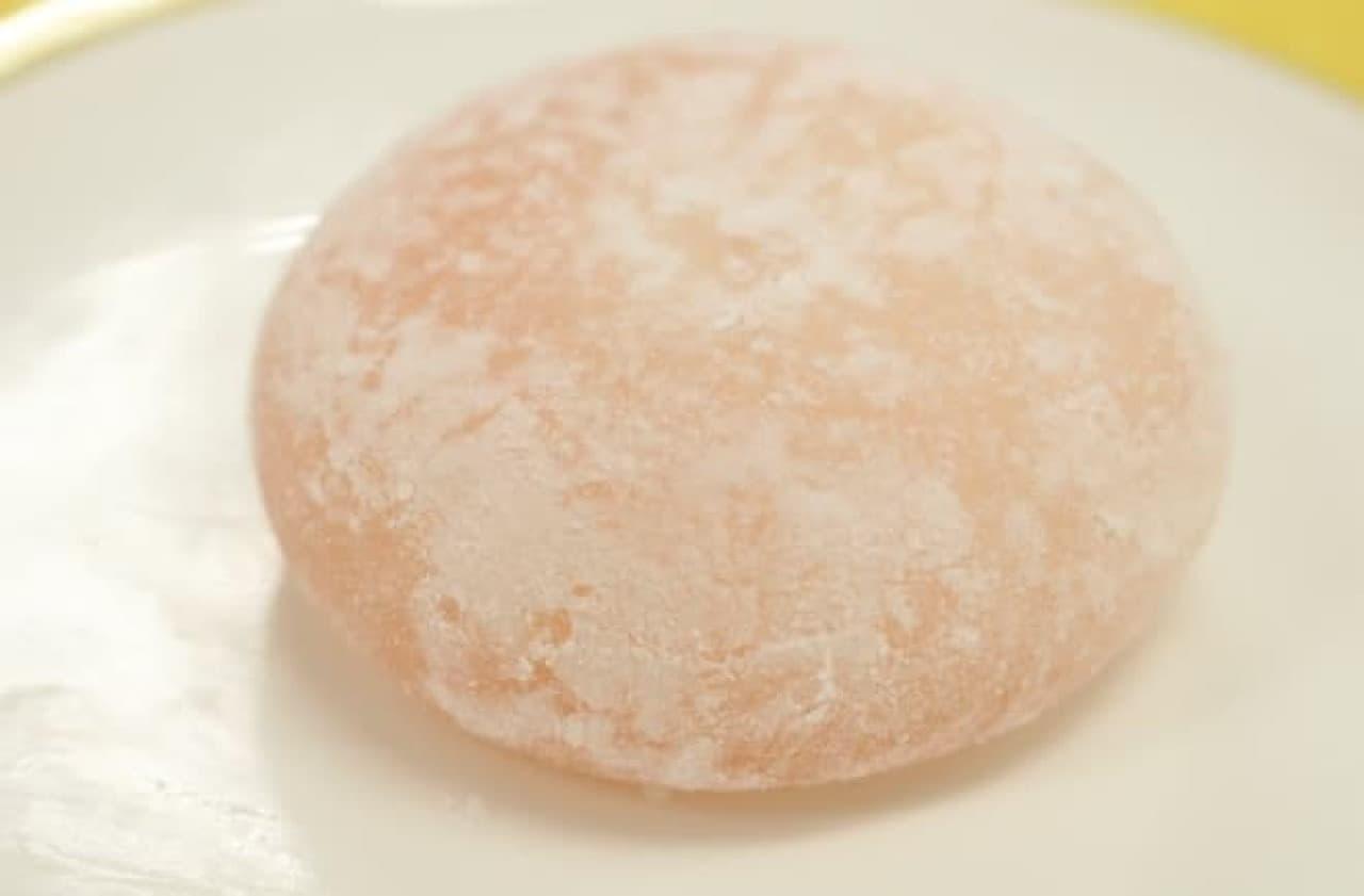 サンクス「桃のクリーム大福」