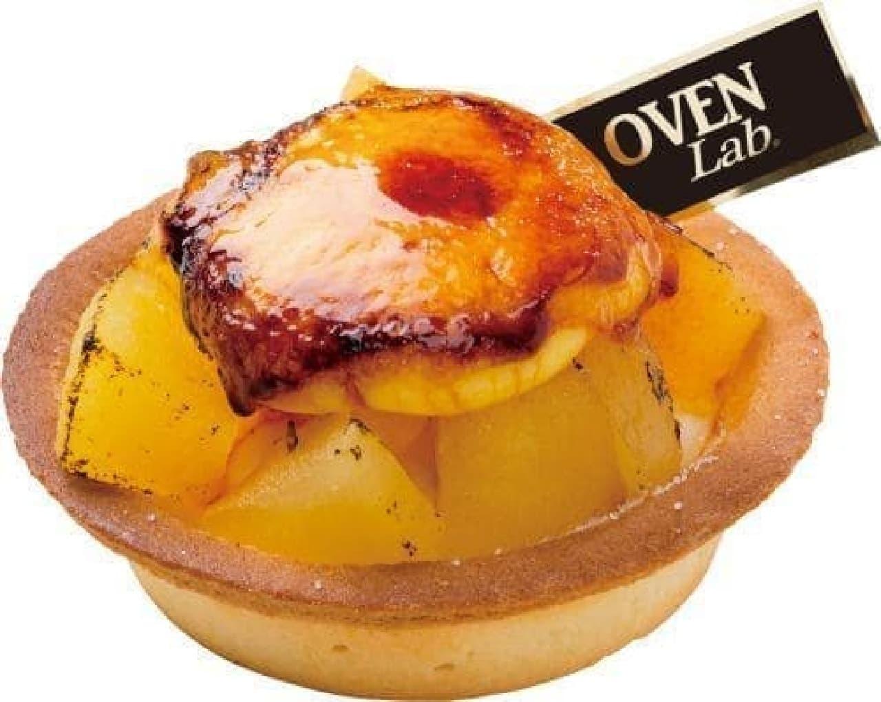 オーブンラボ「焦がしりんごのチーズタルト」