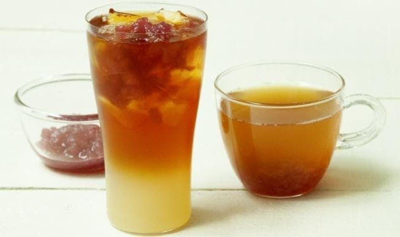 タリーズコーヒー「&TEA アップルオーチャードティー」