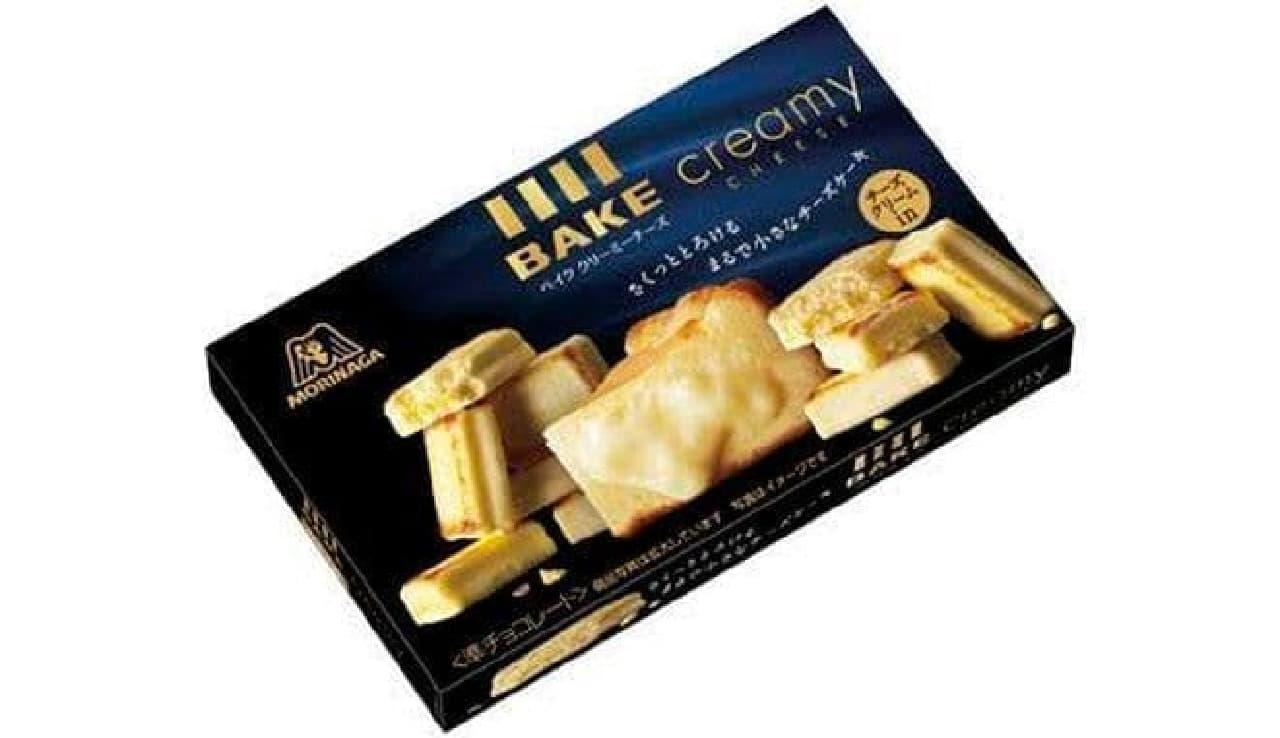 森永製菓「ベイク クリーミーチーズ」