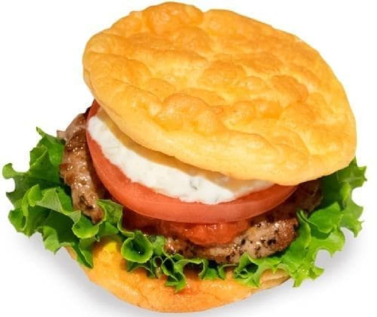 the 3rd Burger「クラウドブレッドバーガー」