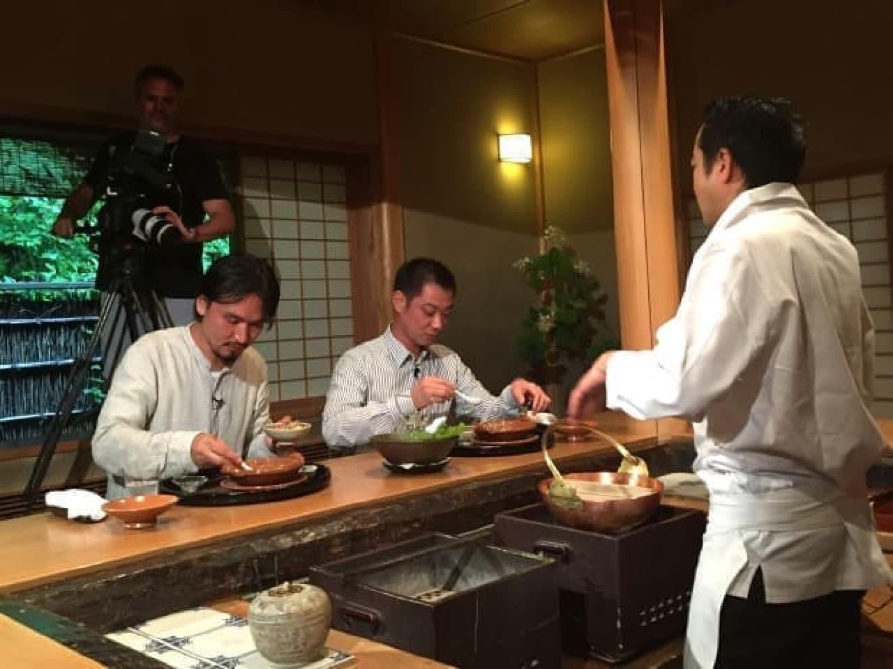 CNN「Culinary Journeys(世界食紀行)」の1シーン