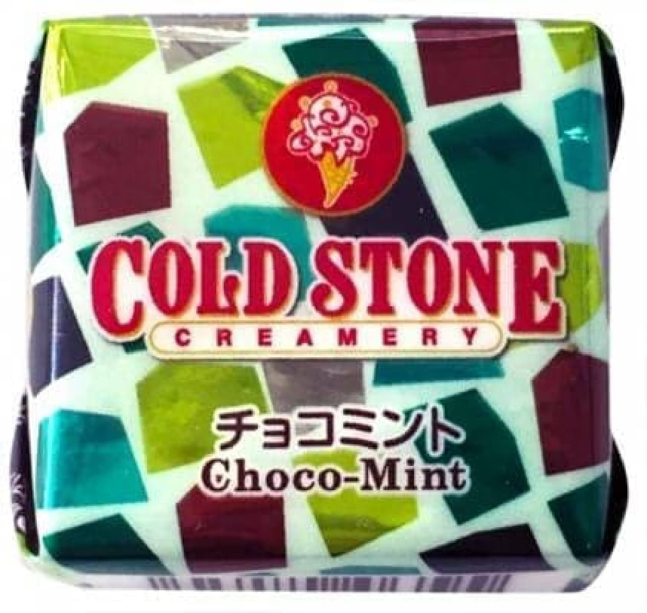 セブン「チロルチョコ<コールドストーンチョコミント>」