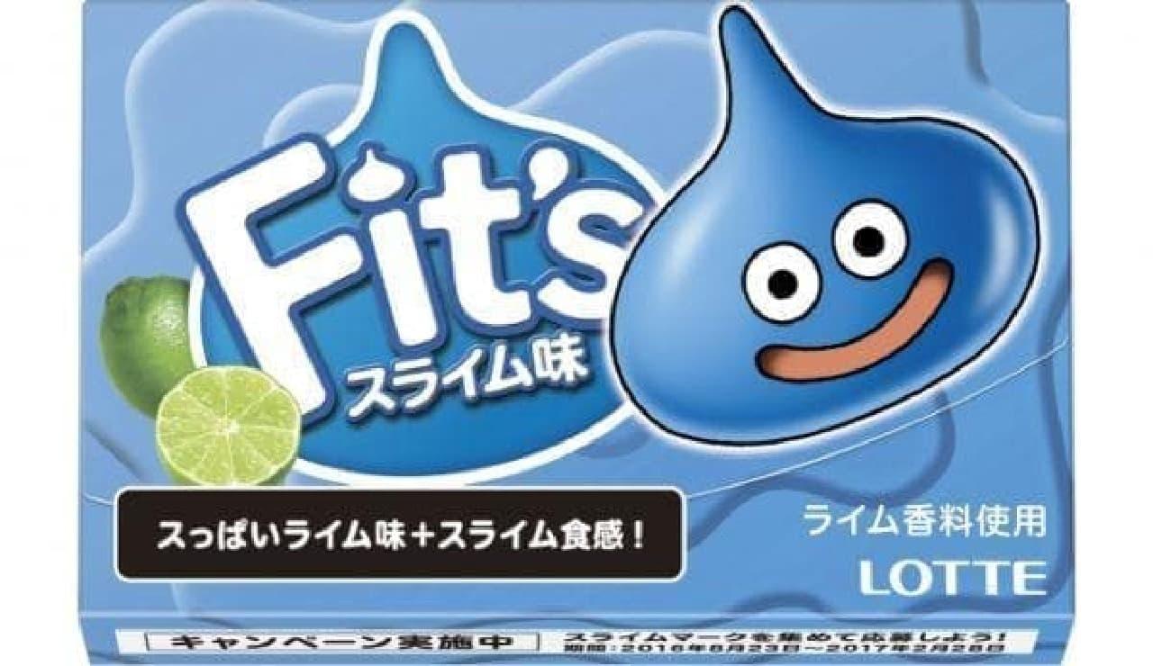 ロッテ「Fit's<スライム味>」