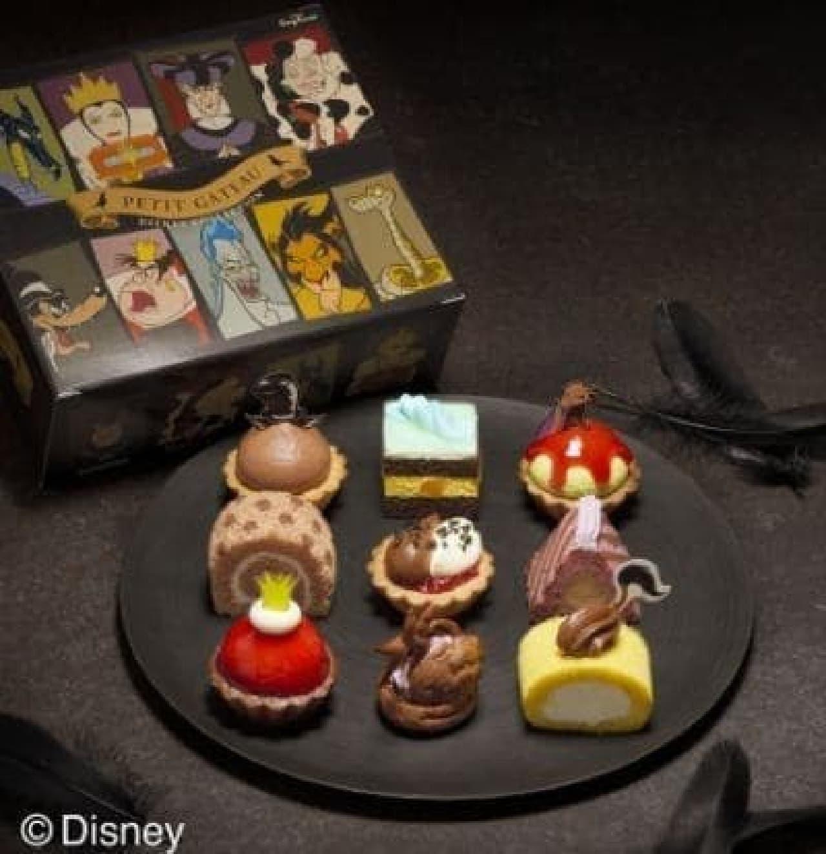 銀座コージーコーナー「プチガトーJOYJOYハロウィン ディズニー ヴィランズ・コレクション」
