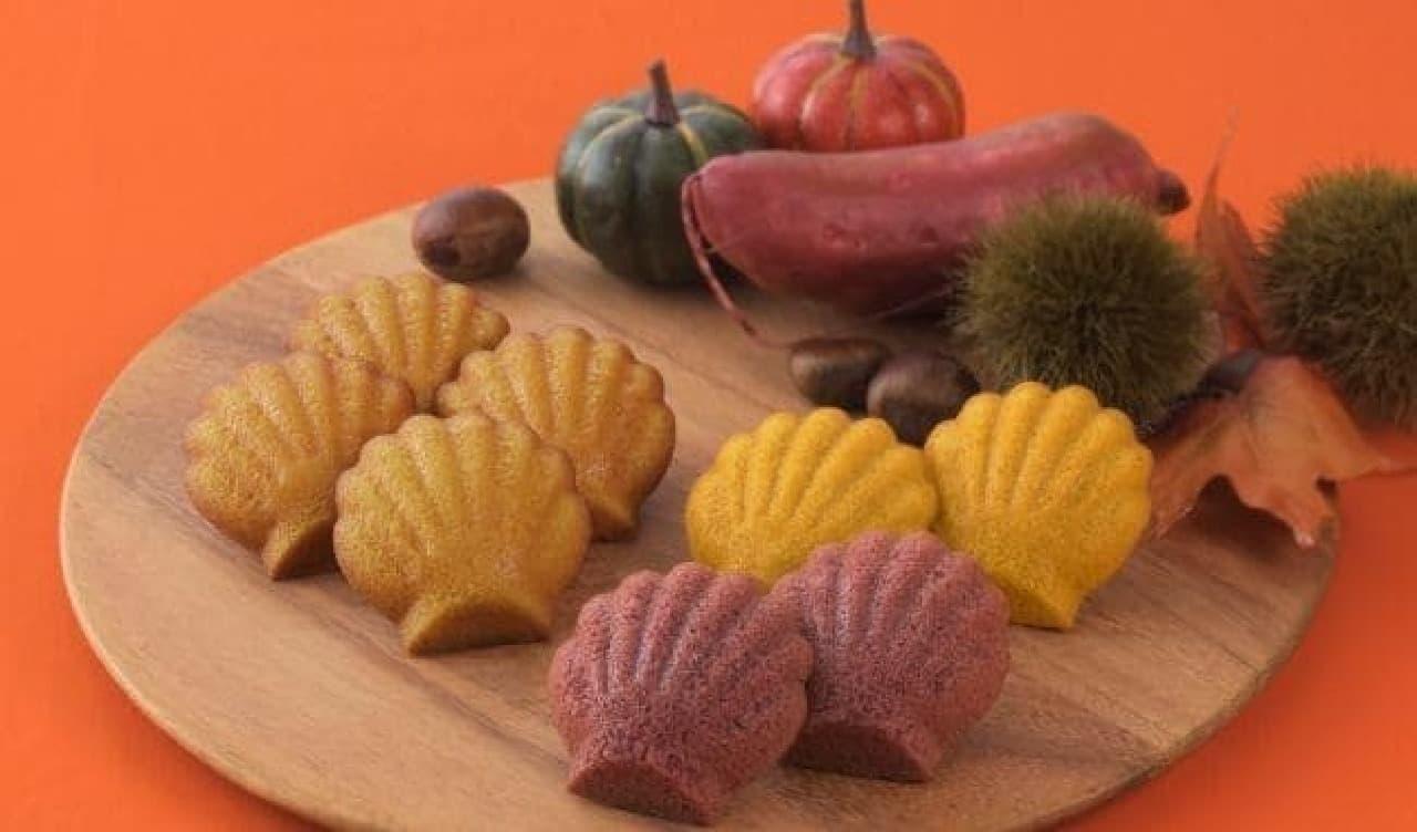銀座コージーコーナー「秋のマドレーヌ」3種