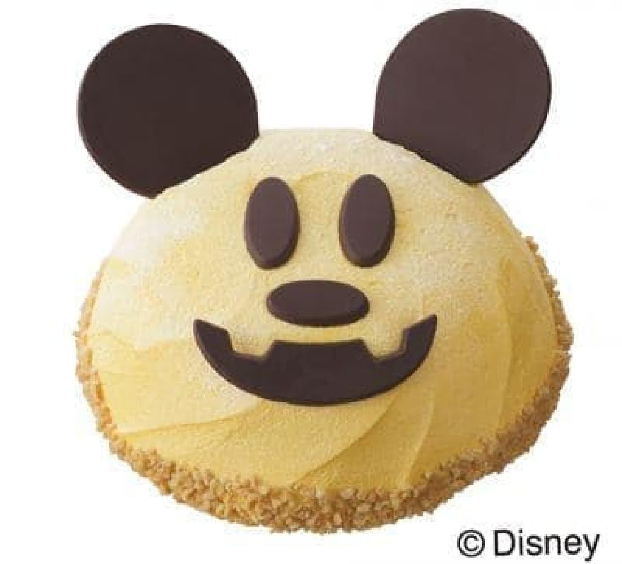 銀座コージーコーナー「JOYJOYハロウィン パンプキンケーキ(ミッキーマウス)」