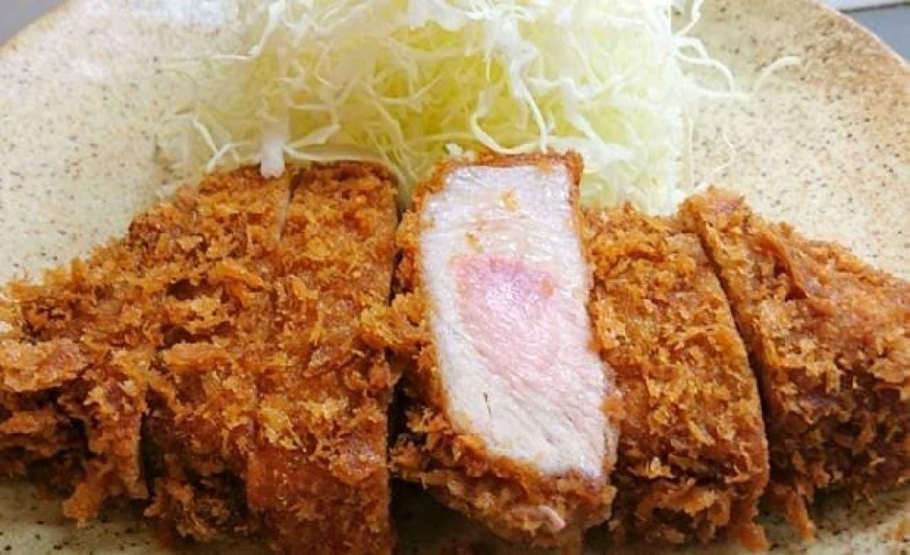 肉のすわ「佐渡島黒豚ロースかつ」