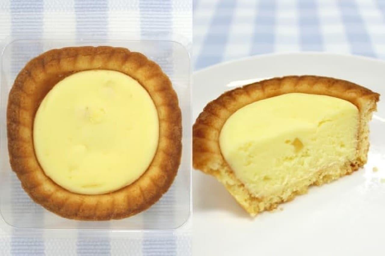 サークルKサンクス「レモン香る濃厚チーズタルト」中身
