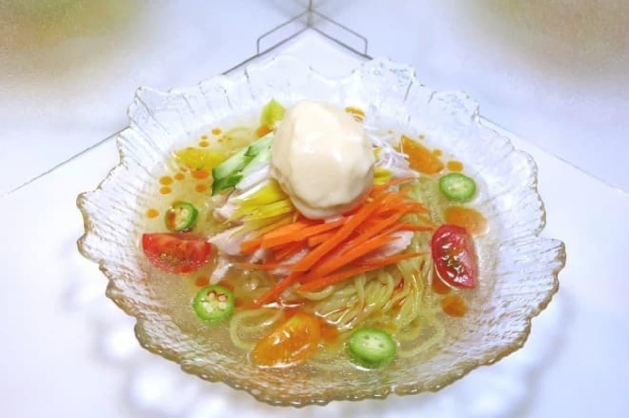 麺屋武蔵新宿総本店「獺祭ライスミルク冷やし麺」