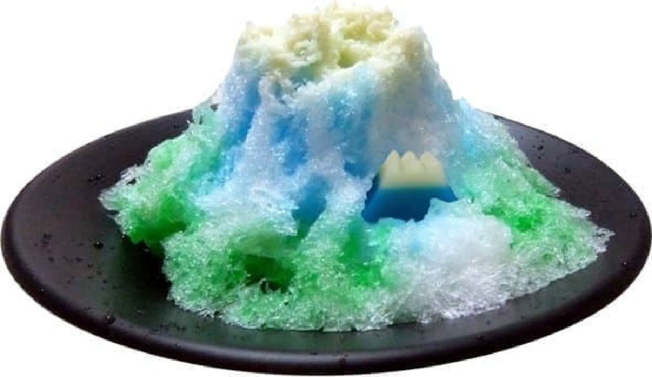 静岡県おがわ「富士山かき氷」