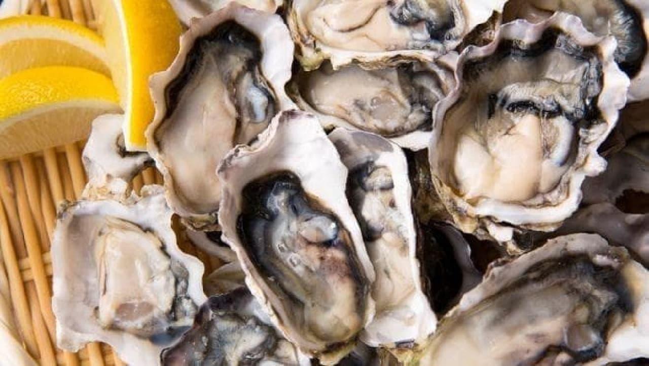 ヒルトン小田原「牡蠣ときのこ 秋のランチブッフェ」の牡蠣