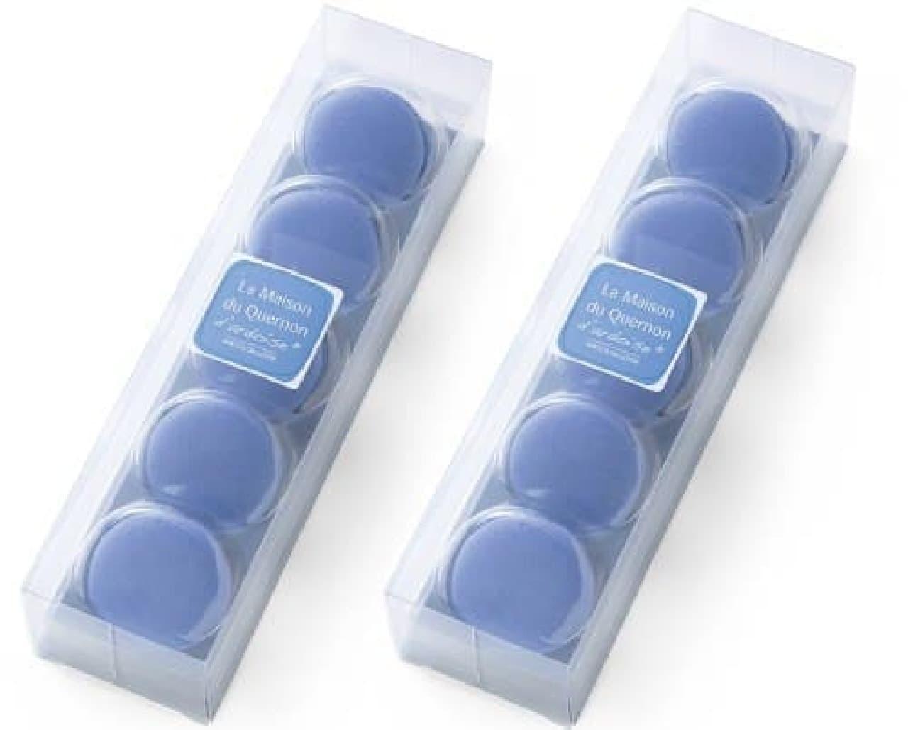 フェリシモ「幸福の青いチョコレート ケルノン ダルドワーズ マカロン」
