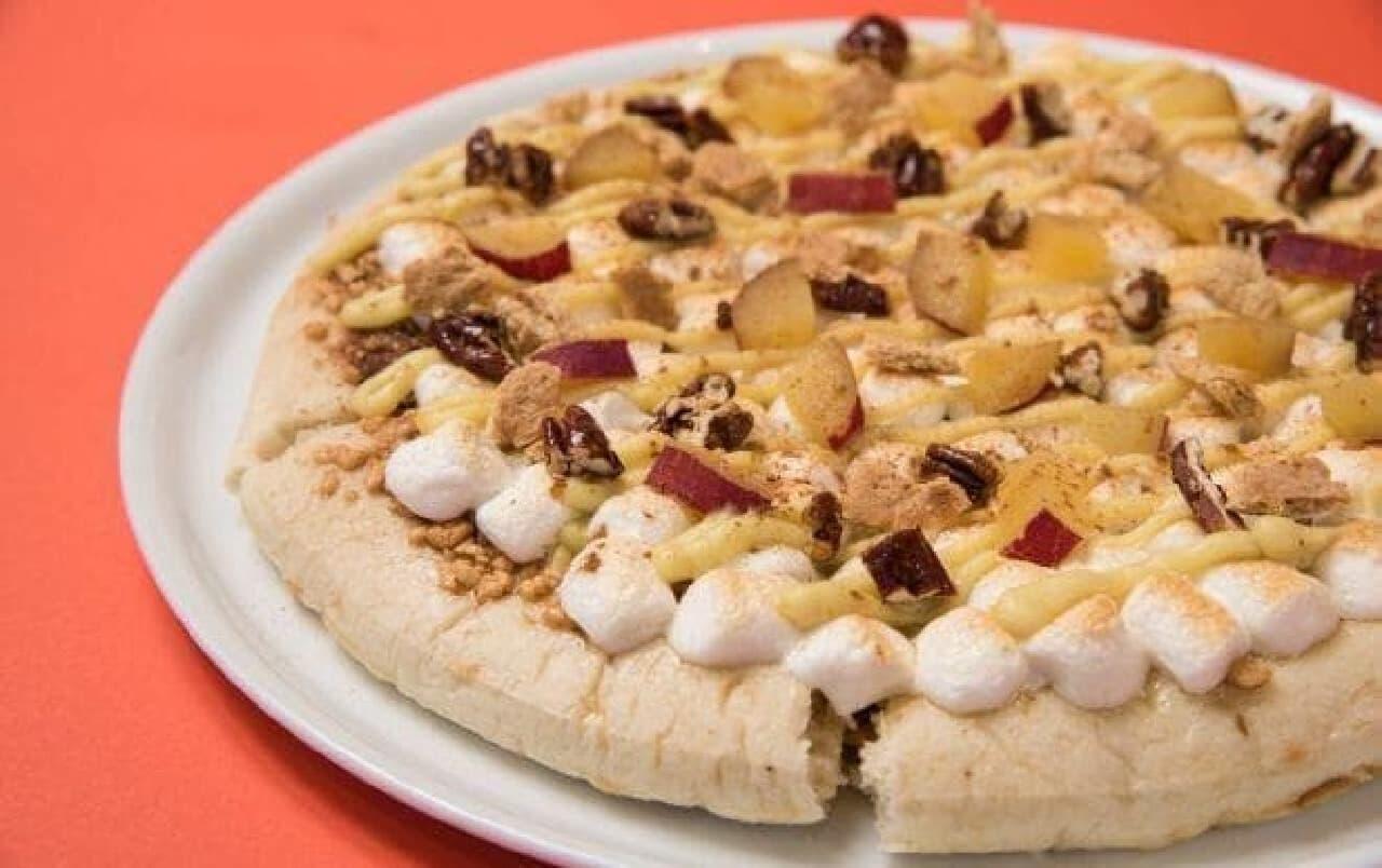マックスブレナー チョコレートバー「スイートポテトチョコレートピザ」
