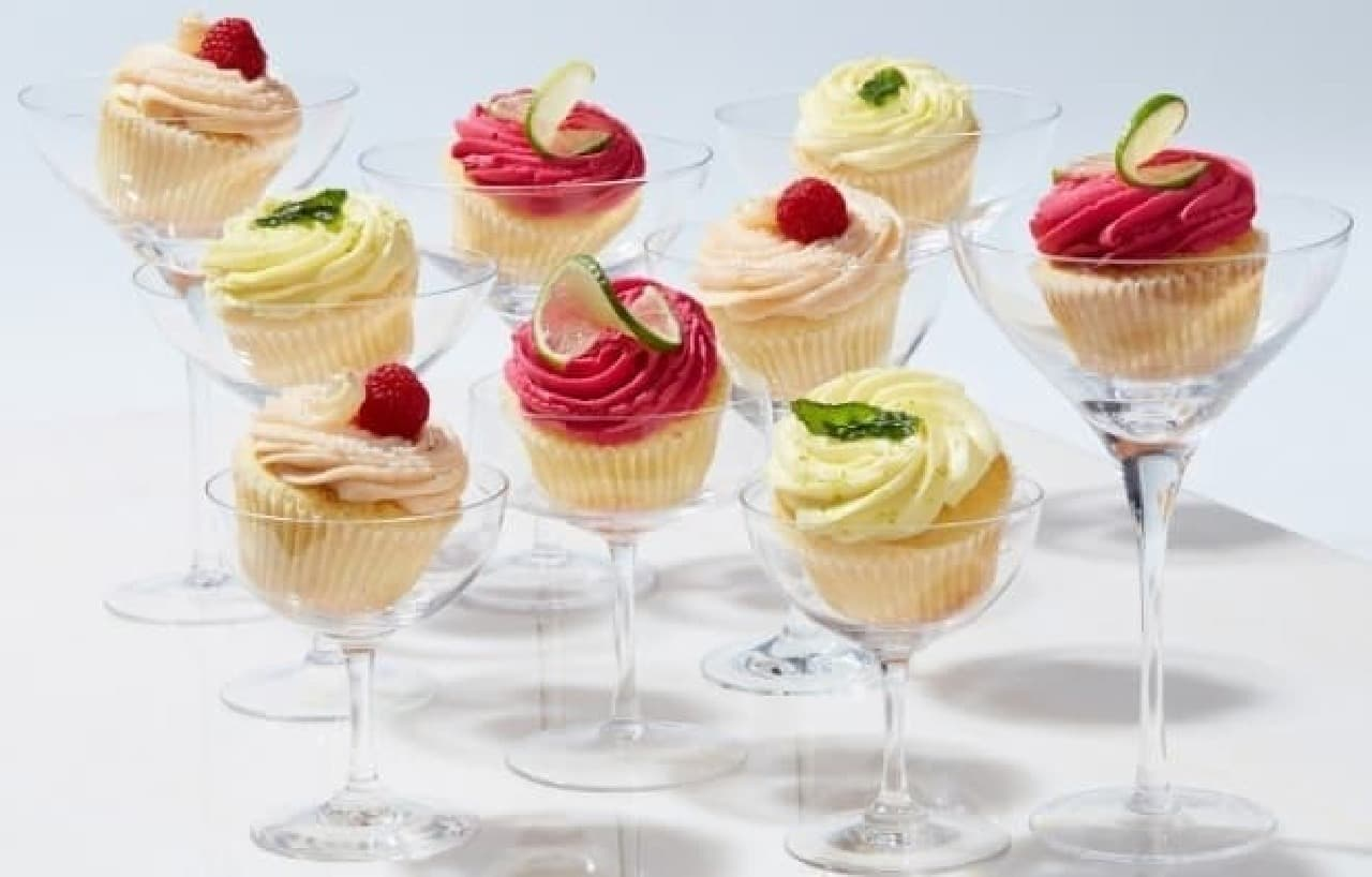 """LOLA'S Cupcakes(ローラズ・カップケーキ) """"カクテル""""をイメージしたカップケーキ"""
