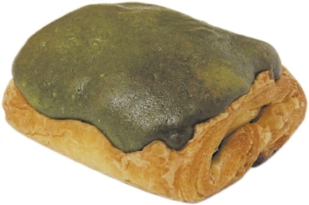 サークルKサンクス「宇治抹茶のパン・オ・ショコラ」