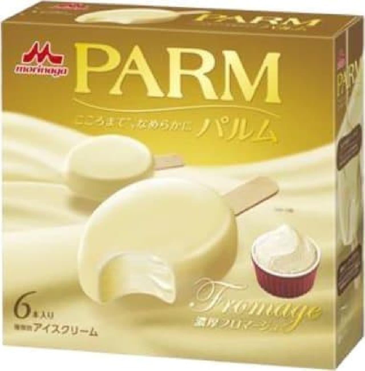 森永乳業「PARM(パルム) 濃厚フロマージュ」