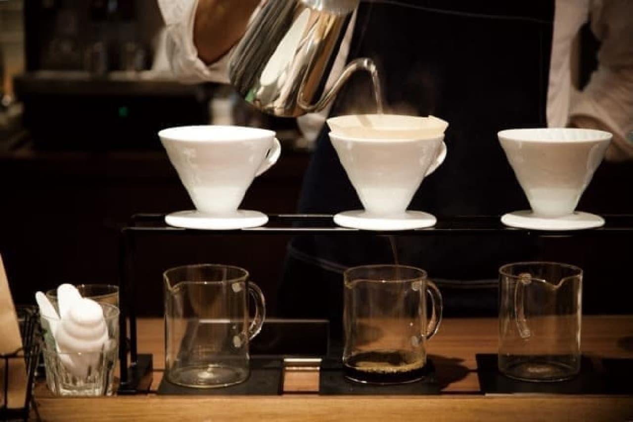 エビスフードホール、自家焙煎コーヒー