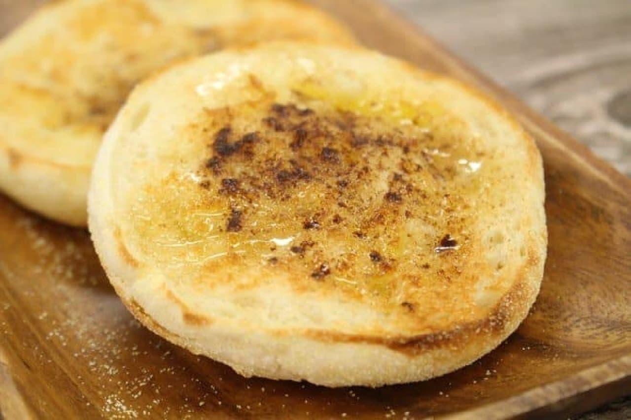 パスコ 超熟イングリッシュマフィン シナモンハニーバター