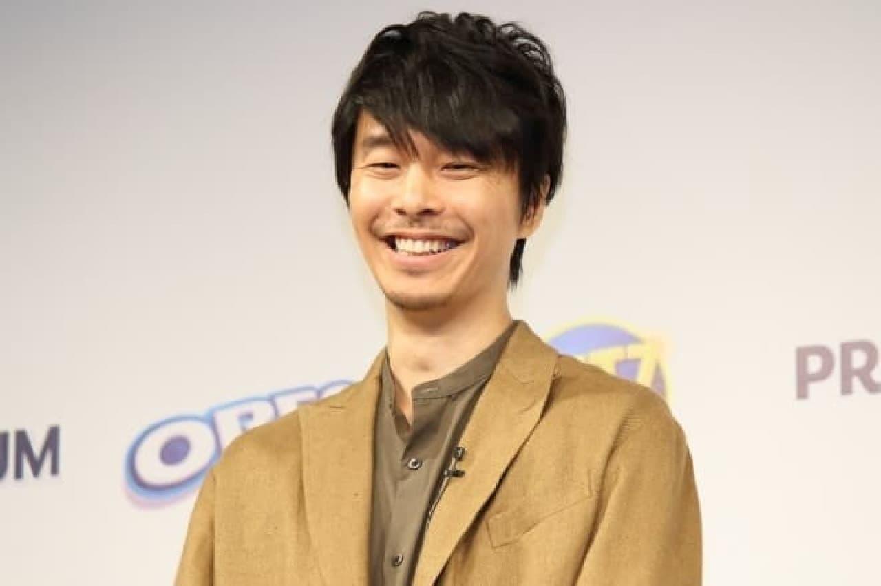 モンデリーズ・ジャパン「リッツ」新CM発表会の長谷川博己さん