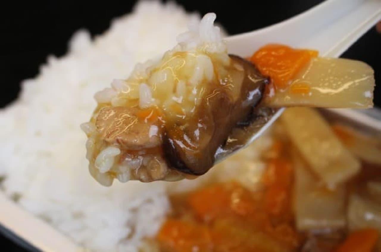 ミリメシ「中華丼」