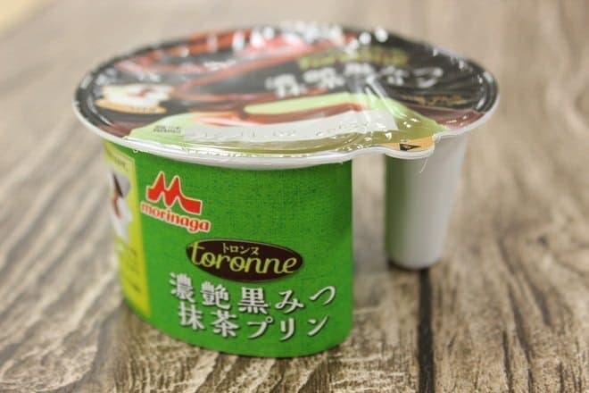 トロンヌ 濃艶(こいつや)黒みつ 抹茶プリン