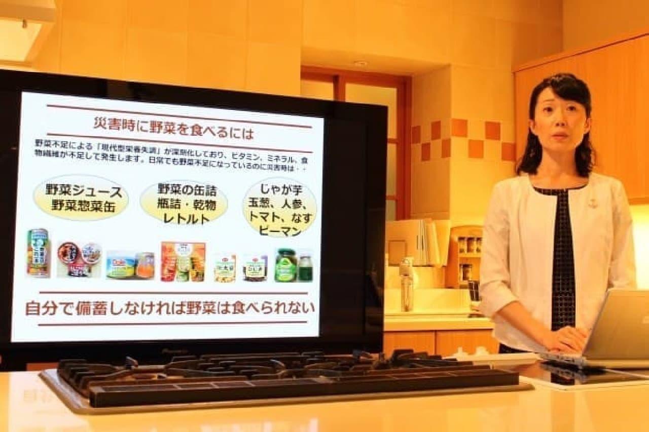 非常時に野菜をとるためのポリ袋レシピ、今泉マユ子さん