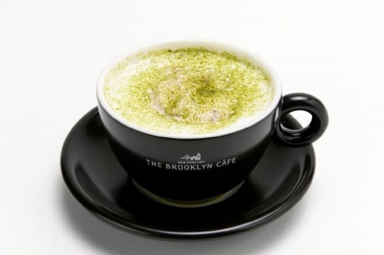 関鍛冶CAFE&あずきBAR、あずきバーホイップ抹茶ラテ