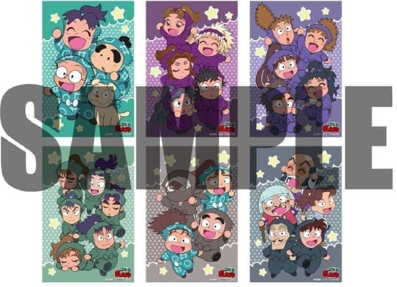 キャラクレ!と「忍たま乱太郎」がコラボレーション オリジナルポストカード