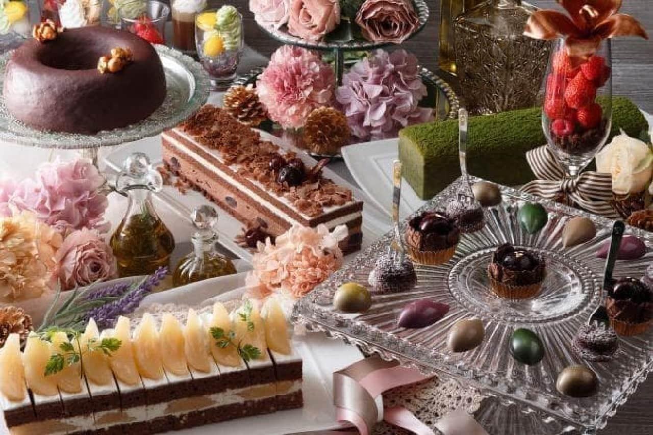 京都センチュリーホテル「ショコラプレミアムデザートビュッフェ」